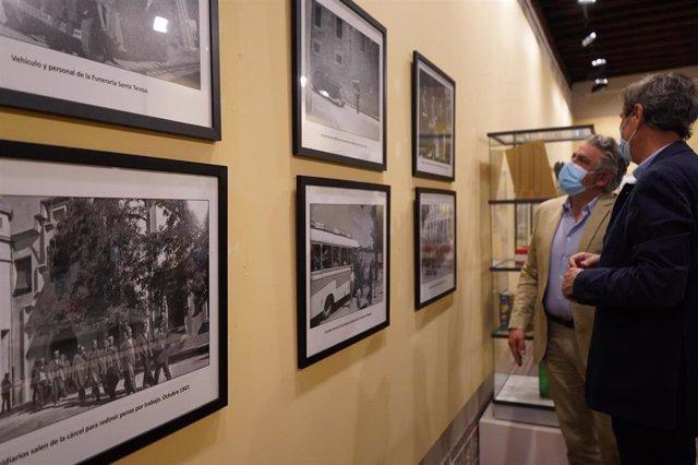 Exposición de las fotografías de Manuel Riosalido.