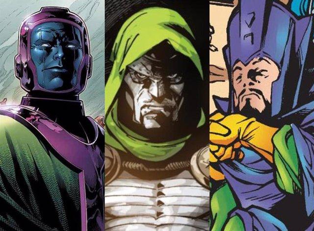 Kang, el Doctor Doom e Immortus