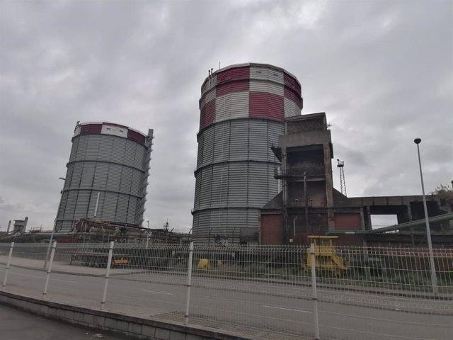 Archivo - Arcelor. Baterías