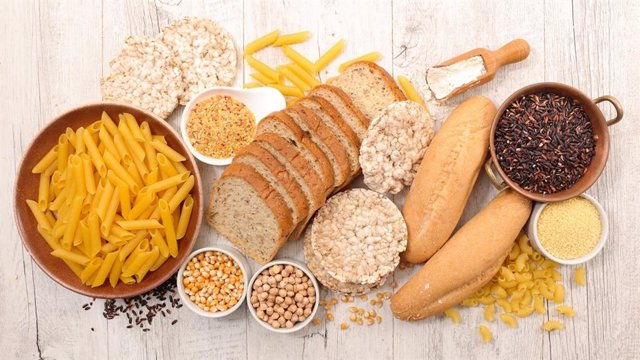 Archivo - Selection of gluten free food