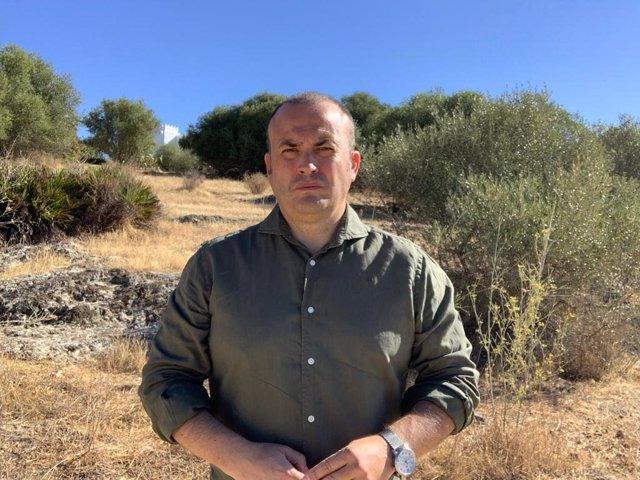 Julio Díaz, parlamentario de Cs por Huelva y vicepresidente del Parlamento de Andalucía.