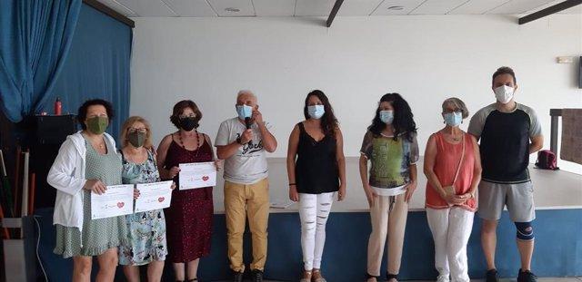 Participantes del programa #sumopasosdesdecasa