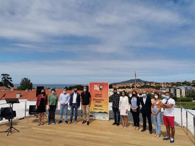 Presentación del festival Vive Nigrán