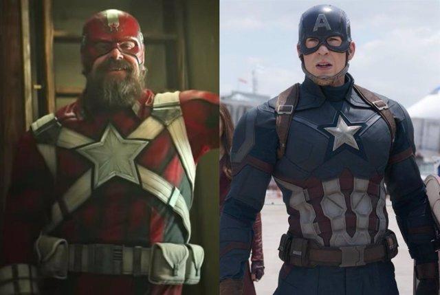 Viuda Negra: ¿Se enfrentó realmente el Guardián Rojo al Capitán América en el Universo Cinematográfico Marvel?