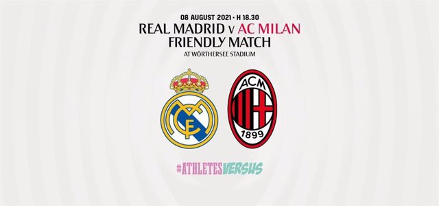 Real Madrid y AC Milan se medirán en un partido amistoso