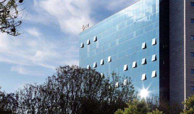 Archivo - Sede central de Grupo Insur en Sevilla.
