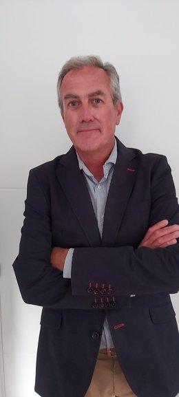 Juan Louro, nuevo director del Centro Comercial Vialia Estación de Vigo.