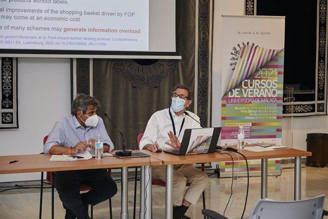El director científico del Instituto de Investigación Biomédica de Málaga (Ibima), Francisco Tinahones, en un curso de la UMA