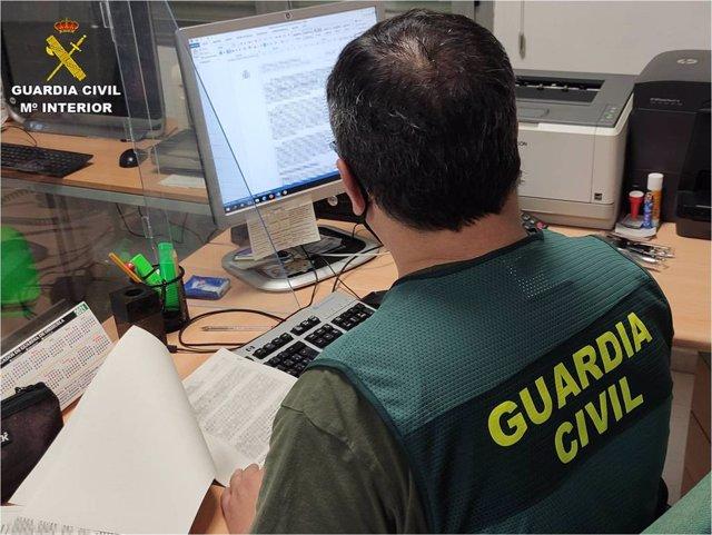 Guardia Civil Alicante archivo