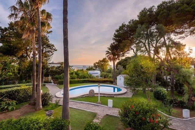 Vista de los Jardines de Suites Cortijo Fontanilla