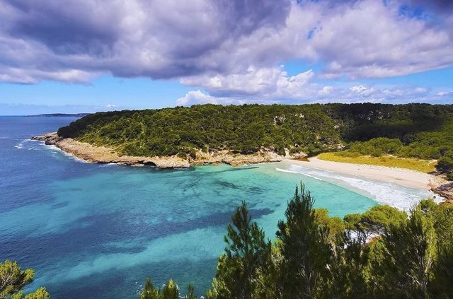 Cala Trebalíger Menorca