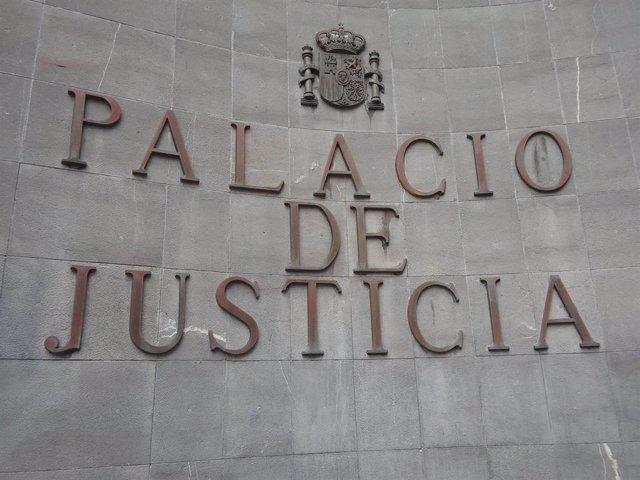 Archivo - Palacio de Justicia de Santa Cruz de Tenerife