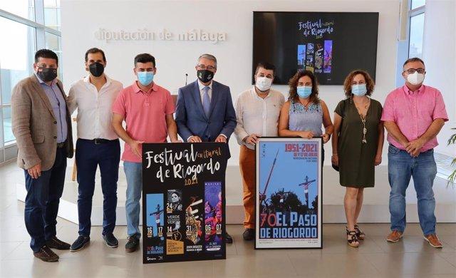 Presentación del Festival Cultural de Riogordo, que se celebra en verano y que contará con diversas actuaciones, entre ellas El Paso