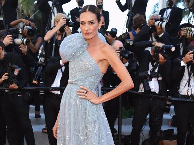 Nieves Álvarez, impactante en Cannes