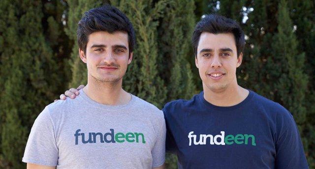El director de operaciones de Fundeen, Adrián Bautista, y el consejero delegado, Nacho Bautista.
