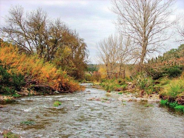 Imagen del río Múrtigas.