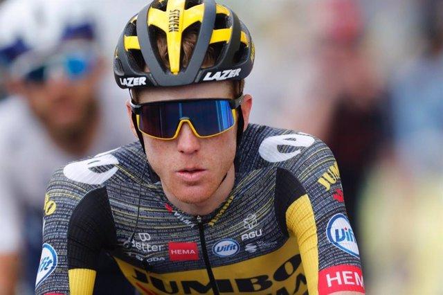El ciclista neerlandés Steven Kruijswijk (Jumbo-Visma) durante el Tour de Francia 2021