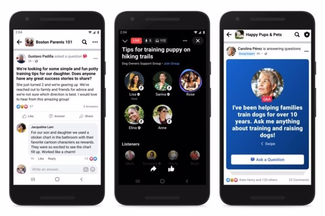 Facebook introduce la figura del experto en los Grupos