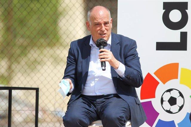 Arxiu - Javier Tebas, president de LaLiga