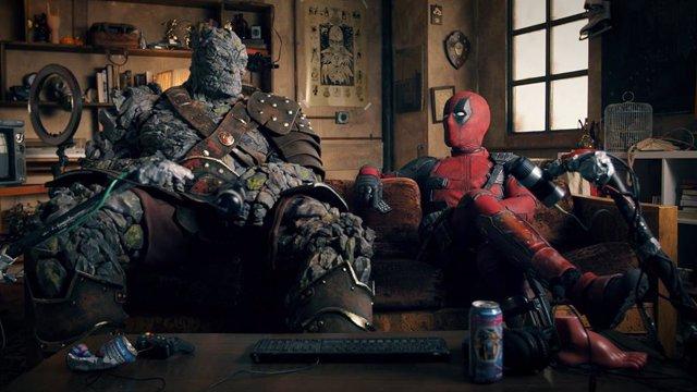 Deadpool junto a Korg