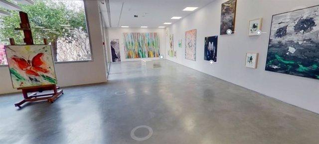 Imagen de la visita virtual al Museum Jorge Rando de Málaag