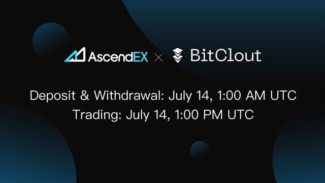 BitClout Lists on AscendEX, Continuing Incredible Growth