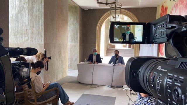 Rueda de prensa de presentación del campus de la Fundación Canarias Siglo XXi