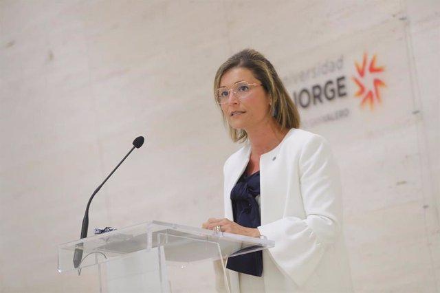 La rectora de la USJ, Berta Sáez.