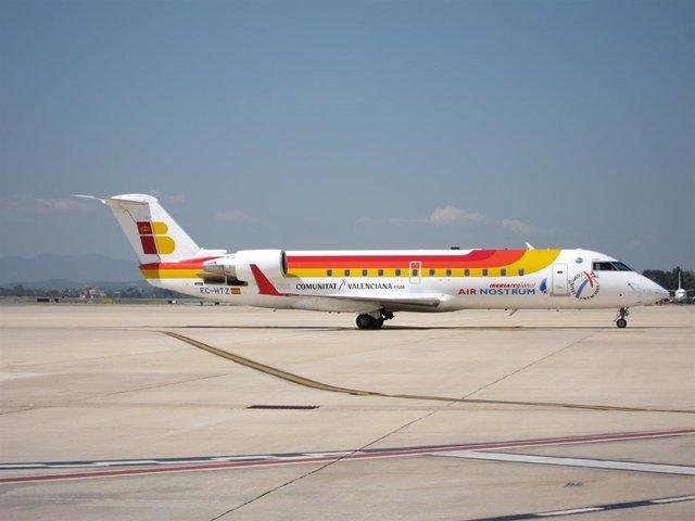 Archivo - Avión De Air Nostrum.