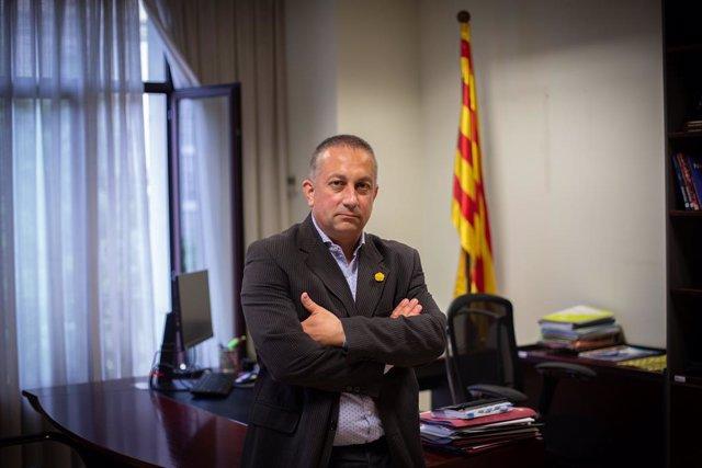 Archivo - El presidente del Consell de Treball, Econòmic i Social de Catalunya, Toni Mora, durante una entrevista con Europa Press, a 18 de mayo de 2021, en Barcelona, Catalunya, (España).