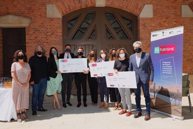 L'Ajuntament de Barcelona ha entregat aquest dimecres els premis FuTurisme a tres iniciatives de turisme sostenible