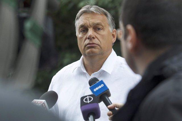 Archivo - El primer ministro de Hungría, Viktor Orban.