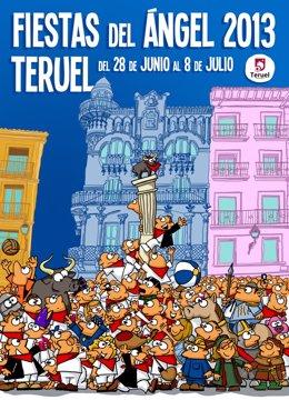 El cartel 'Todos con la Fiesta' de 2013 ha sido elegido el mejor cartel de las Fiestas del Ángel.