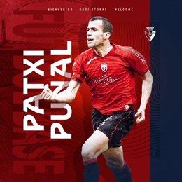 Patxi Puñal, nuevo director técnico del Club Atlético Osasuna