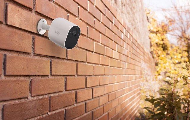 Archivo - Cámara de vigilancia de exterior