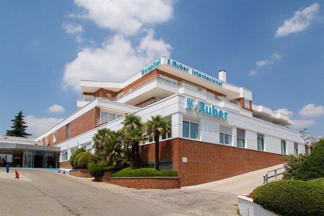 Archivo - Edificio del Hospital Ruber Internacional