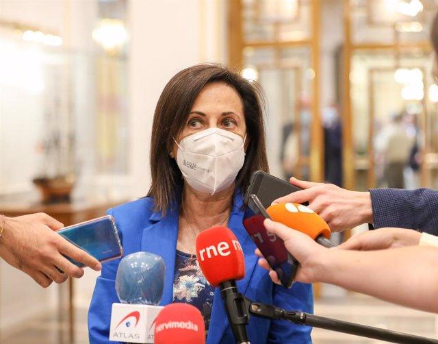 Arxiu - La ministra de Defensa, Margarita Robles