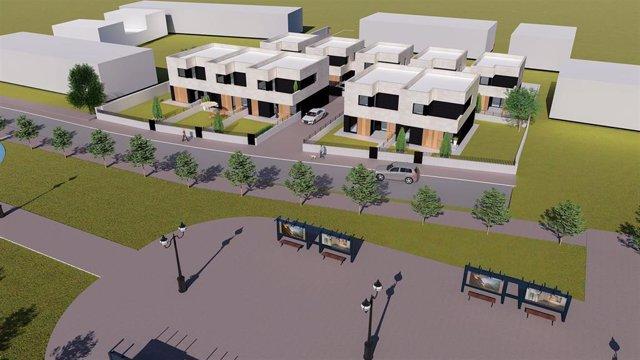 Promoción residencial de viviendas en San Román