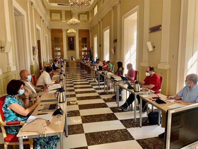 Sesión plenaria del Ayuntameinto de Cáceres correspondiente al mes de  julio