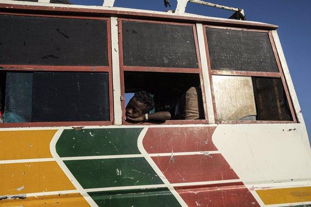 Archivo - Refugiados de Tigray, Etiopía, en Sudán