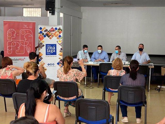 Álora inicia un curso de cocina malagueña para el empleo de colectivos vulnerables