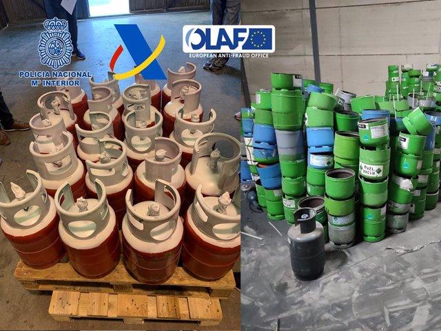 Desarticulada la banda europea más activa de importación y tratamiento ilegal de gases de efecto invernadero