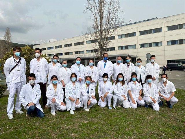 Investigadores del CIBEREHD en el Hospital de Mataró