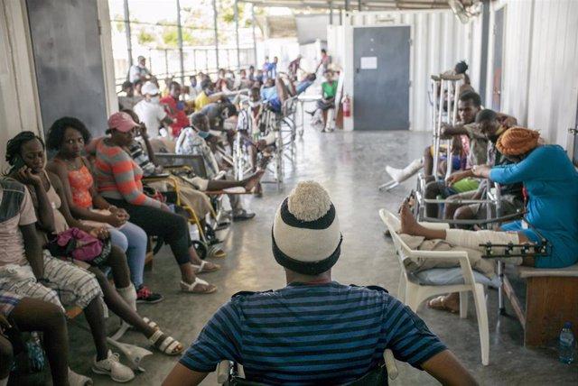 Archivo - Pacientes en un hospital de Médicos Sin Fronteras (MSF) en Haití