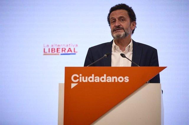 El vicesecretario general de Ciudadanos y portavoz de la Ejecutiva, Edmundo Bal.