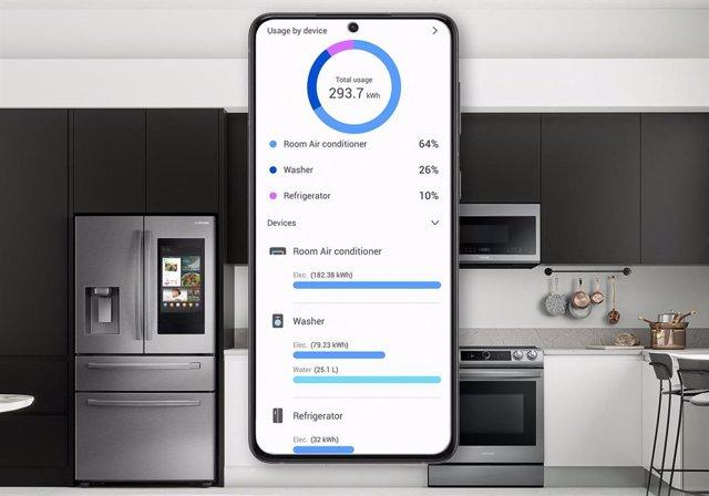 Samsung SmartThings Energy.