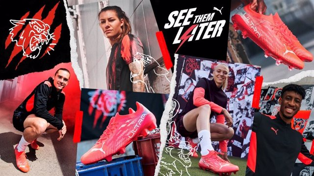 Puma lanza las botas de fútbol Ultra 1.3, las primeras unisex y con otro diseño exclusivo para el pie femenino.