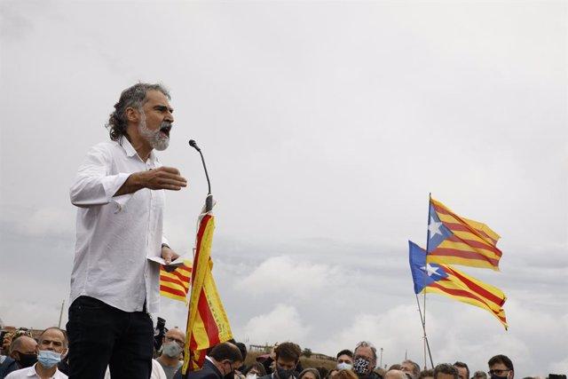 Arxiu - El president d'Òmnium Cultural, Jordi Cuixart
