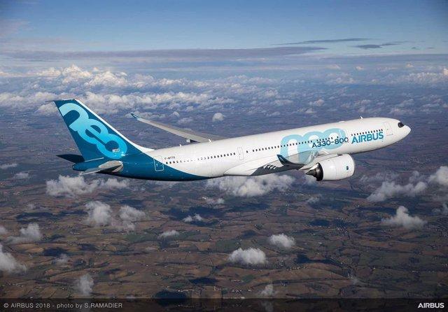 Archivo - Airbus 330-800.