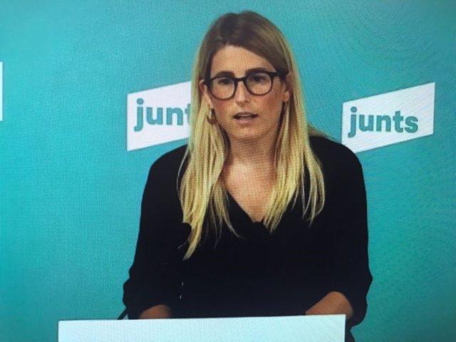 Arxiu - La secretària general de Junts, Elsa Artadi